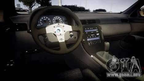 Lexus SC300 1997 Sharpie para GTA 4 vista interior