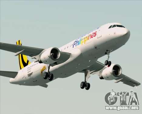 Airbus A320-200 Tigerair Philippines para el motor de GTA San Andreas