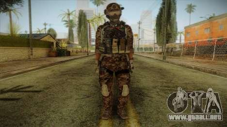 Army Skin 2 para GTA San Andreas