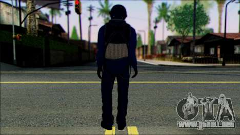 Chinese Jet Pilot from Battlefield 4 para GTA San Andreas segunda pantalla