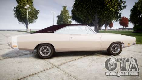 Dodge Charger RT 1969 para GTA 4 left