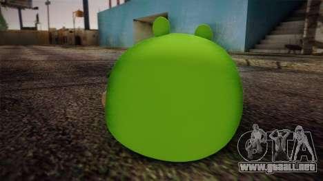 Pig from Angry Birds para GTA San Andreas segunda pantalla