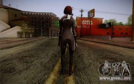 Ann Bryson from Mass Effect 3 para GTA San Andreas segunda pantalla