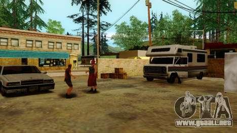 La recuperación de las estaciones de Los Santos para GTA San Andreas tercera pantalla