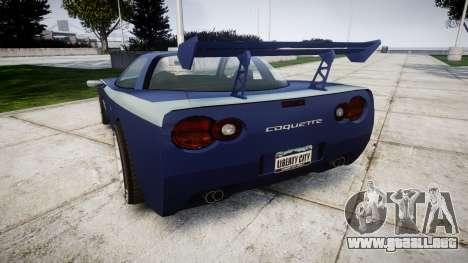 Invetero Coquette X para GTA 4 Vista posterior izquierda