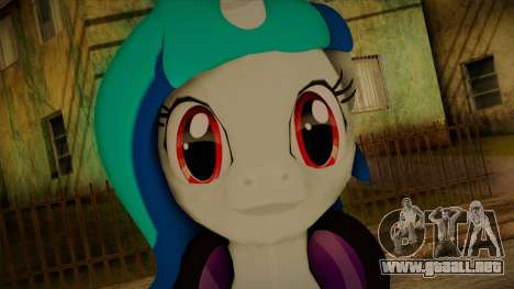 Vinyl Scratch from My Little Pony para GTA San Andreas tercera pantalla