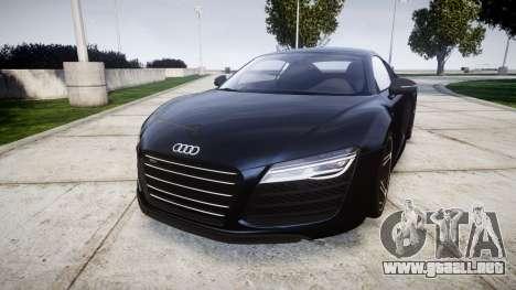 Audi R8 plus 2013 HRE rims para GTA 4