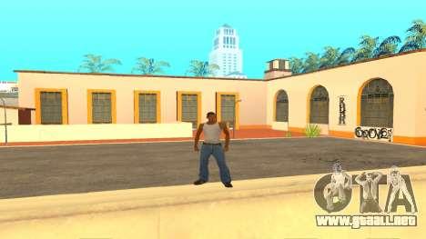 ColorMod v1.1 para GTA San Andreas segunda pantalla