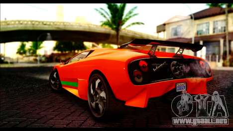 GTA 5 Pegassi Infernus [HQLM] para GTA San Andreas left