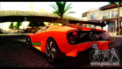 GTA 5 Pegassi Infernus [HQLM] para GTA San Andreas left