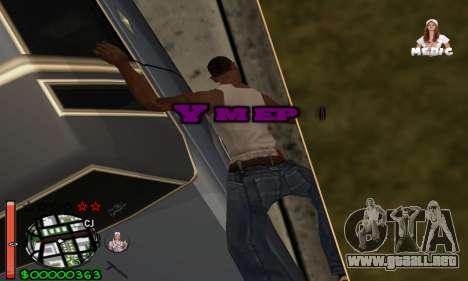 С-HUD Medic para GTA San Andreas sucesivamente de pantalla