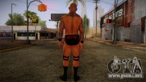 Randy Orton from Smackdown Vs Raw para GTA San Andreas segunda pantalla