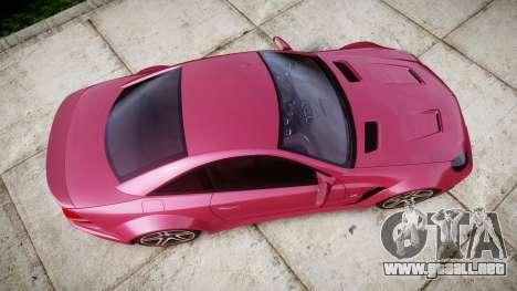 Mersedes-Benz SL65 AMG 2009 para GTA 4 visión correcta