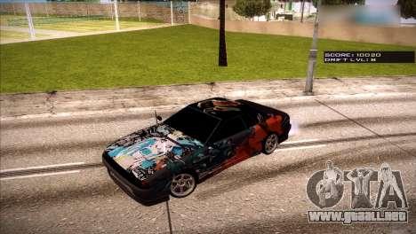 Vinilos para Elegía para GTA San Andreas quinta pantalla