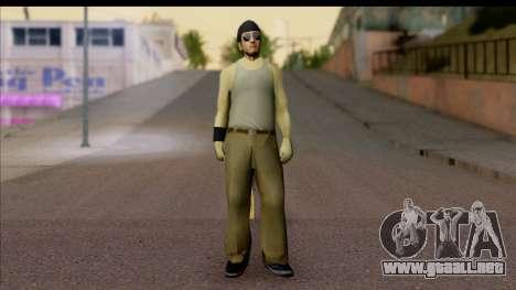 GTA San Andreas Beta Skin 6 para GTA San Andreas