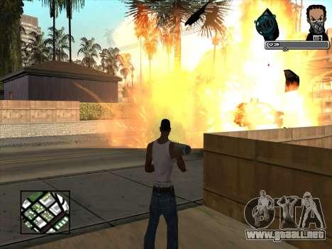 Marusya C-HUD para GTA San Andreas tercera pantalla