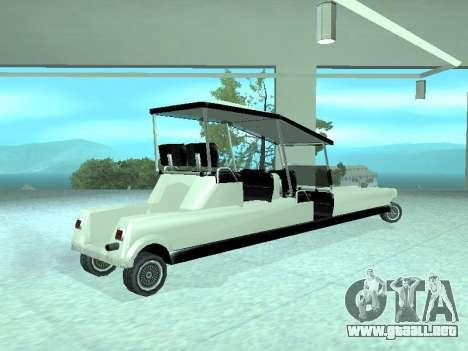 Limgolf para GTA San Andreas left