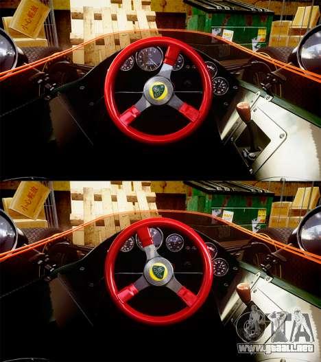 Lotus Type 49 1967 [RIV] PJ3-4 para GTA 4 vista hacia atrás