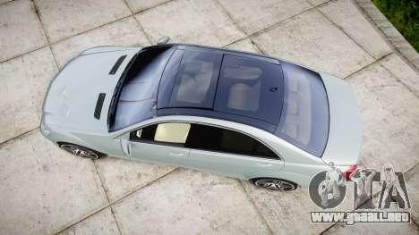 Mercedes-Benz S65 W221 AMG v2.0 rims1 para GTA 4 visión correcta