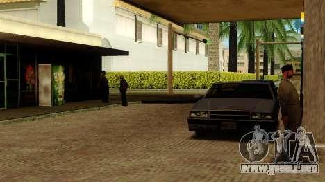La recuperación de las estaciones de Los Santos para GTA San Andreas novena de pantalla
