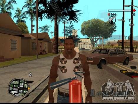 C-HUD Good para GTA San Andreas quinta pantalla