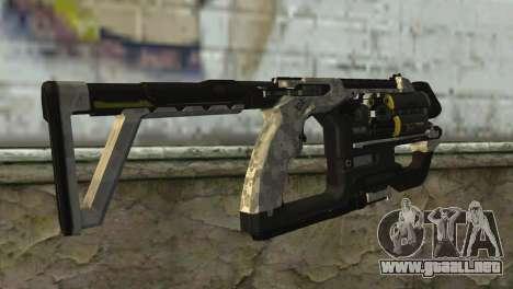K-Volt from Crysis 3 para GTA San Andreas segunda pantalla