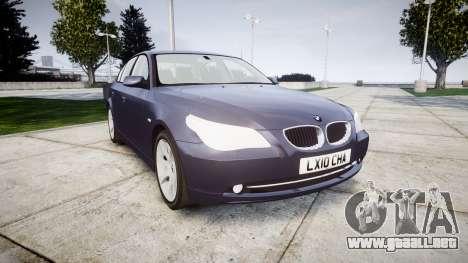BMW 525d E60 2009 para GTA 4