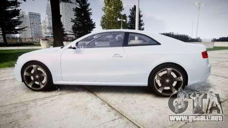 Audi RS5 2012 v2.0 para GTA 4 left