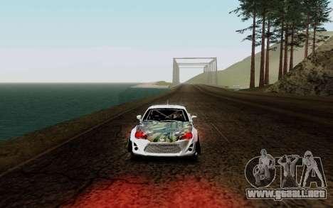 Subaru BRZ VCDT para GTA San Andreas left