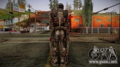 Duty Exoskeleton para GTA San Andreas segunda pantalla