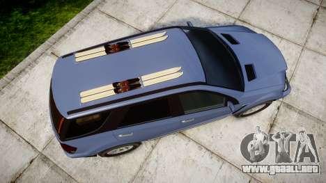 GTA V Benefactor Serrano 4x4 para GTA 4 visión correcta