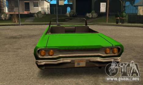 Beta Savanna para vista lateral GTA San Andreas