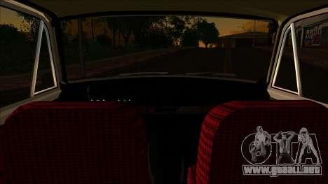VAZ 2102 para GTA San Andreas vista posterior izquierda