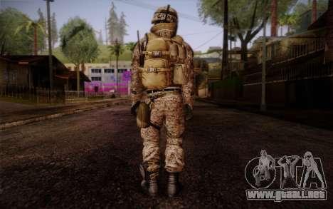 Campo from Battlefield 3 para GTA San Andreas segunda pantalla