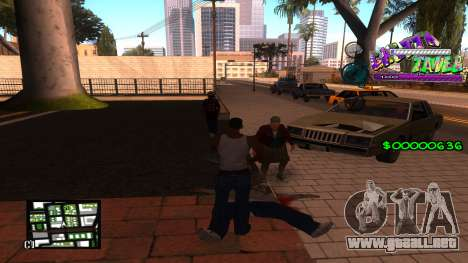 C-HUD Ghetto Tawer para GTA San Andreas