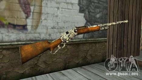 Nuevo Rifle para GTA San Andreas segunda pantalla