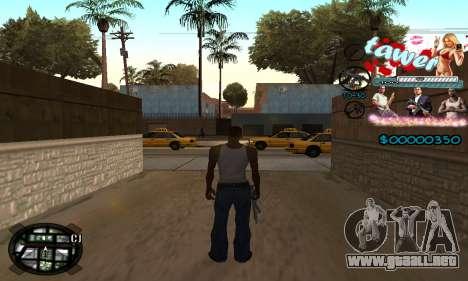 C-HUD Tawer GTA 5 para GTA San Andreas segunda pantalla