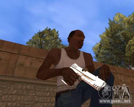 Clear weapon pack para GTA San Andreas segunda pantalla