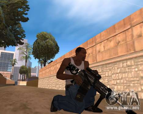 Hitman Weapon Pack v1 para GTA San Andreas segunda pantalla