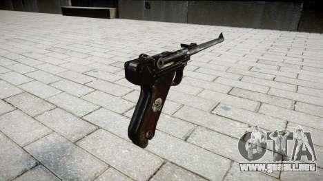 La artillería de la pistola de Lange R para GTA 4 segundos de pantalla