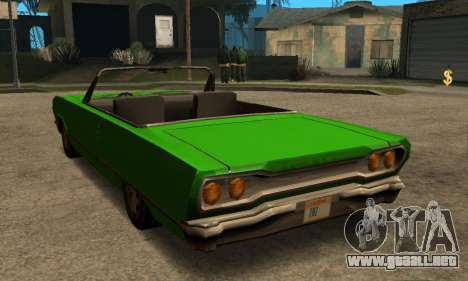 Beta Savanna para visión interna GTA San Andreas