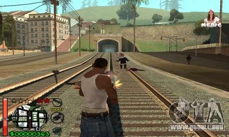 С-HUD Medic para GTA San Andreas tercera pantalla