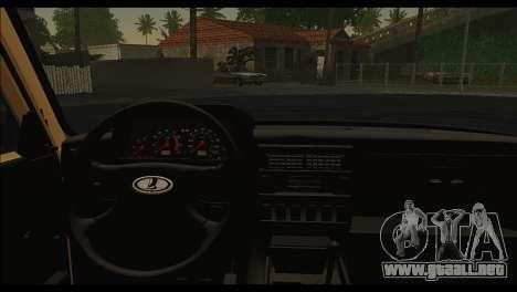 Lada 4x4 Urban para GTA San Andreas vista posterior izquierda