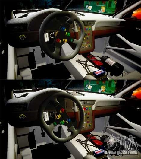 RUF RGT-8 GT3 [RIV] Nelris para GTA 4 vista superior