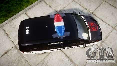 Dodge Grand Caravan LCPD [ELS] para GTA 4 visión correcta