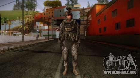 Modern Warfare 2 Skin 5 para GTA San Andreas