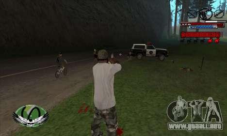 C-HUD by Kir4ik para GTA San Andreas tercera pantalla