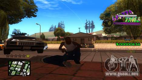 C-HUD Ghetto Tawer para GTA San Andreas tercera pantalla