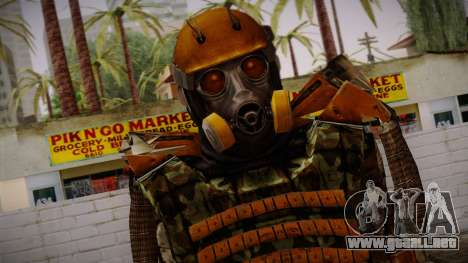 Freedom Exoskeleton para GTA San Andreas tercera pantalla