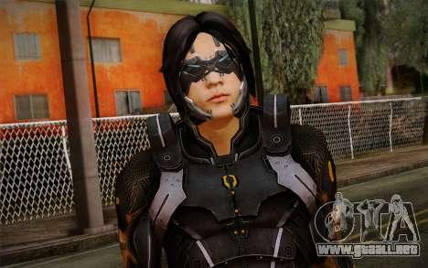 Kei Leng from Mass Effect 3 para GTA San Andreas tercera pantalla
